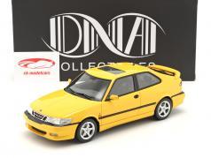 Saab 9-3 Viggen Coupe Ano de construção 2000 amarelo metálico 1:18 DNA Collectibles