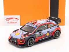 Hyundai i20 Coupe WRC #11 Победитель Rallye Monte Carlo 2020 Neuville, Gilsoul 1:18 Ixo