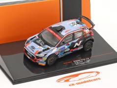 Hyundai i20 R5 #36 Rallye Эстония 2020 Munster, Louka 1:43 Ixo