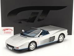 Ferrari Testarossa Spider Baujahr 1998 silber 1:12 GT-SPIRIT