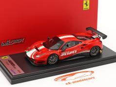 Ferrari 488 GT3 Evo 建设年份 2020 红色的 1:43 LookSmart