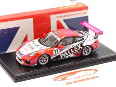 Porsche 911 GT3 Cup #11 kampioen Porsche Carrera Cup VK 2018 1:43 Spark