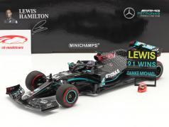 L. Hamilton Mercedes-AMG F1 W11 #44 91. Vinde Eifel GP F1 2020 1:18 Minichamps