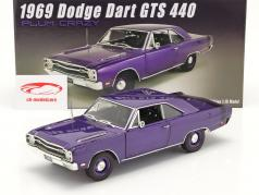 Dodge Dart GTS 440 建设年份 1969 紫色的 1:18 GMP