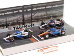 Podium 3-auto's set Indianapolis 500 IndyCar Series 2020 1:64 Greenlight
