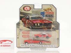Ford F-350 Ramp Truck with Mercury Trans AM Cougar #15 Jones Parnelli 1:64 GMP