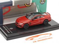 BMW M8 Coupe RHD 建设年份 2018 茂木 红色的 1:64 Paragon Models