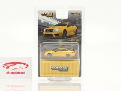 Mercedes-Benz C63 AMG Coupe Black Series yellow 1:64 Tarmac Works