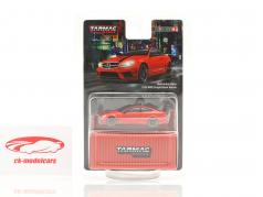 Mercedes-Benz C63 AMG Coupe Black Series red 1:64 Tarmac Works
