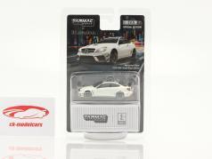 Mercedes-Benz C63 AMG Coupe Black Series white 1:64 Tarmac Works