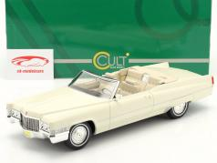 Cadillac De Ville Convertible Año de construcción 1970 blanco 1:18 Cult Scale