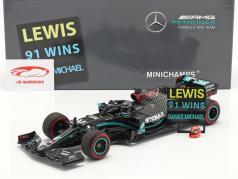 Hamilton Mercedes-AMG F1 W11 #44 91st Win Eifel GP Formula 1 2020 1:18 Minichamps