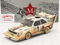Audi Sport quattro S1 E2 #1 Vencedora Pikes Peak 1987 Röhrl Dirty Version 1:18 CMR