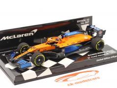 Carlos Sainz McLaren MCL35 #55 2位 イタリア GP F1 2020 1:43 Minichamps