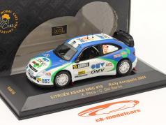 Citroen Xsara WRC № 19 Ралли Акрополис 2005 1:43 Ixo