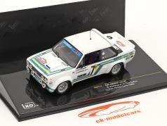 Fiat Abarth 131 #7 Rali de Monte Carlo 1980 1:43 Ixo