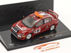 Mitsubishi Lancer Evo X Rally Japão 2007 #00 Safety Car 1:43 Ixo