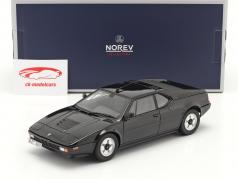 BMW M1 建設年 1980 黒 1:18 Norev