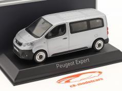 Peugeot Expert 建設年 2016 aluminium 銀 1:43 Norev