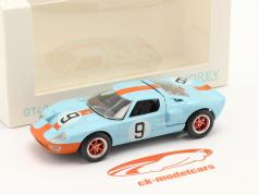 Ford GT40 #9 Winner 24h LeMans 1968 Jet Car 1:43 Norev