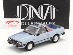 Subaru BRAT 一代 2 建设年份 1986 浅蓝 金属的 1:18 DNA Collectibles