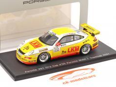ポルシェ911(997)GT3カップ#55ポルシェモービル1スーパーカップ2007オヤング1:43スパーク