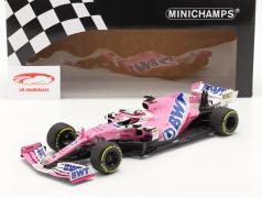 Sergio Perez Racing Point RP20 #11 6° austriaco GP formula 1 2020 1:18 Minichamps