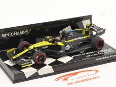 Daniel Ricciardo Renault R.S.20 #3 3ª Eifel GP Fórmula 1 2020 1:43 Minichamps