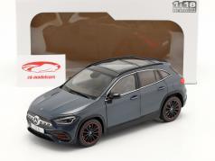 Mercedes-Benz GLA (H247) 建設年 2020 デニム 青 メタリック 1:18 Solido