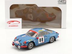 Alpine A110 1600S #88 победитель Rallye Португалия 1971 Nicolas, Todt 1:18 Solido