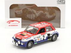 Renault 5 Turbo #2 Sieger Rallye D'Antibes 1983 Therier, Vial 1:18 Solido