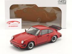 Porsche 911 (930) Carrera 3.2 Année de construction 1984 rouge 1:18 Solido