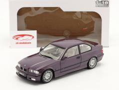 BMW M3 (E36) Coupe bouwjaar 1994 Daytona paars 1:18 Solido