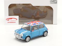 Mini Cooper Sport 建设年份 1997 渔夫 蓝色 1:18 Solido
