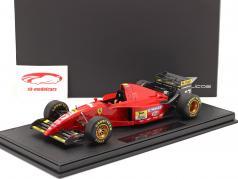 Jean Alesi Ferrari 412T2 #27 formula 1 1995 with showcase 1:18 GP Replicas