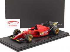 Gerhard Berger Ferrari 412T2 #28 formula 1 1995 with showcase 1:18 GP Replicas