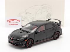Honda Civic Type-R 建设年份 2020 黑色的 1:18 LCD Models