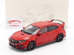 Honda Civic Type-R 建設年 2020 赤 1:18 LCD Models