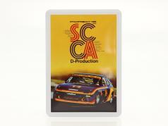 Porsche Postal de metal: SCCA D-Production 1980