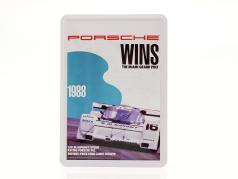 Porsche Metal postcard: 3h Miami 1988