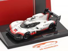 Porsche 919 Hybrid Evo #1 Vuelta récord Spa Tribute Tour 2018 Neel Jani 1:43 Ixo
