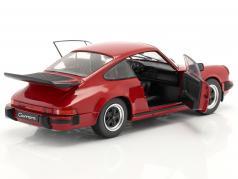 Porsche 911 (930) Carrera 3.2 bouwjaar 1984 rood 1:18 Solido
