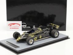 Nigel Mansell Lotus 91 #12 4位 モナコ GP 方式 1 1982 1:18 Tecnomodel