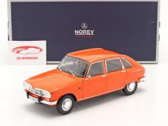 Renault 16 TS 建设年份 1971 橘子 1:18 Norev