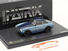 Moretti 750 Gran Sport Année de construction 1954 bleu métallique 1:43 Matrix