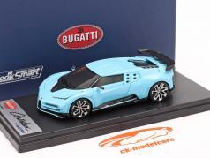 Bugatti Centodieci 2019 Historic Bugatti luz azul 1:43 LookSmart