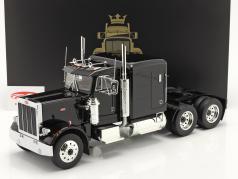 Peterbilt 359 Bull Nose トラック 1967 黒 1:18 Road Kings