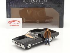 Chevy Impala SS Sport Sedan 1967 séries de TV Supernatural com figura 1:24 Jada Toys