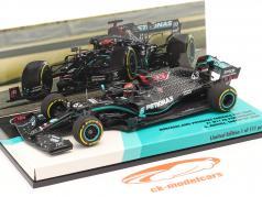 ジョージラッセルメルセデス-AMGF1 W11#63 SakhirGPフォーミュラ120201:43ミニチャンピオン