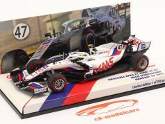 Mick Schumacher Haas VF-21 #47 Bahrein GP formula 1 2021 1:43 Minichamps